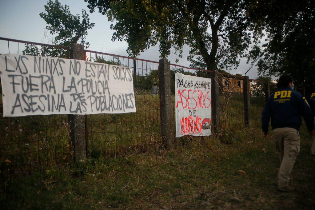 PDI detiene a carabinero que disparó contra menores en el centro del Sename de Talcahuano