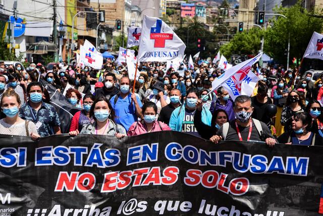 Trabajadores de la salud inician paro laboral en Chile teleSUR