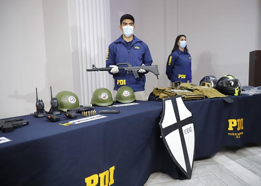 """Gobierno baja el perfil y trata de """"utensilios"""" al armamento allanado tras amenazas a fiscal Chong"""