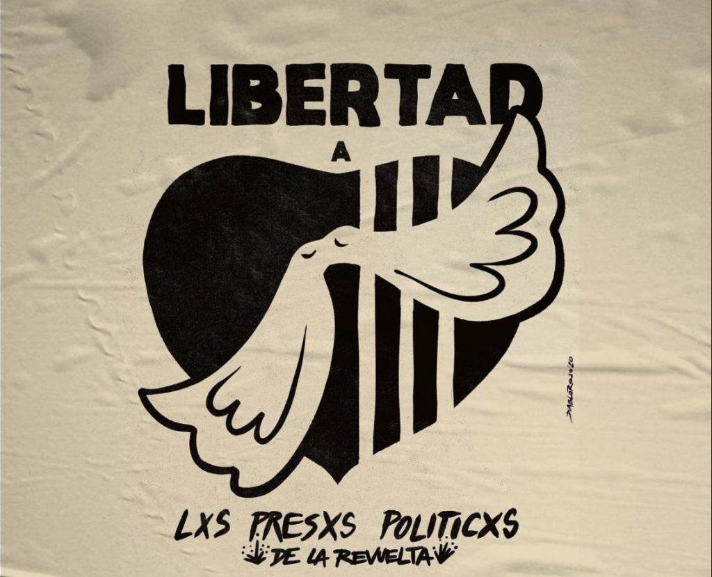 Colectivo convoca a artistas visuales a crear obras exigiendo la libertad a presos de la revuelta