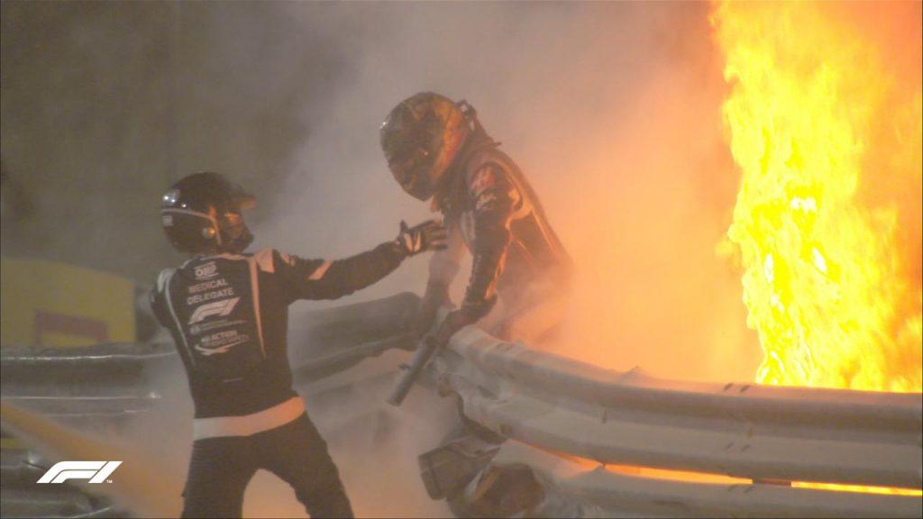 Nacer de nuevo: Romain Grosjean se recupera tras salvar de milagro su vida en escalofriante accidente
