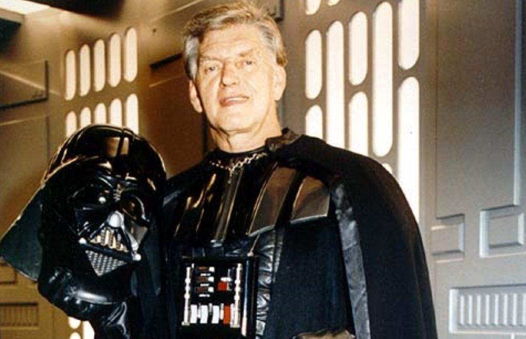 Murió Dave Prowse, el actor que le dio vida al célebre Darth Vader