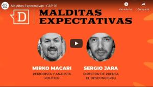 Revive el primer capítulo de Malditas Expectativas junto a Mirko Macari