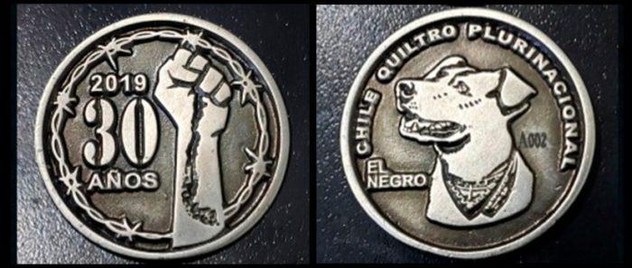 El Quiltro Dorado: la moneda que honra a los iconos del pueblo