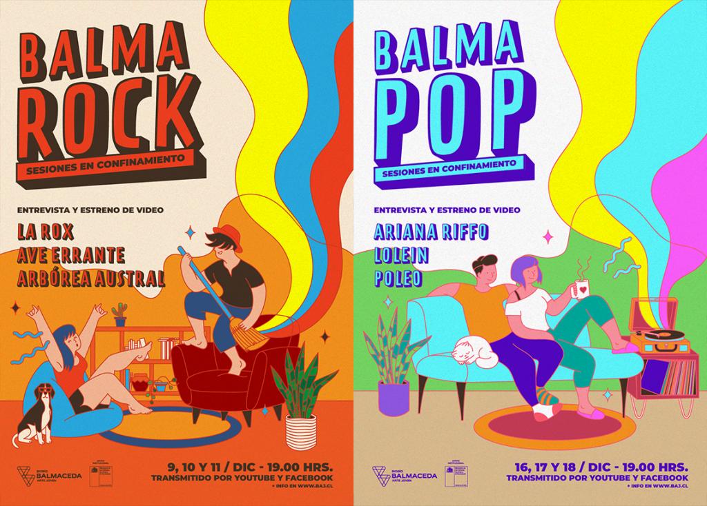 """BalmaRock y BalmaPop se unen en el formato """"Sesiones en confinamiento"""""""