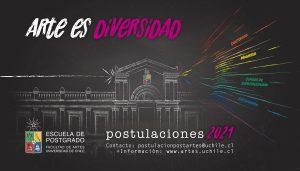 Escuela de Postgrado de la Facultad de Artes U. Chile abre último llamado para postular a sus programas de estudio
