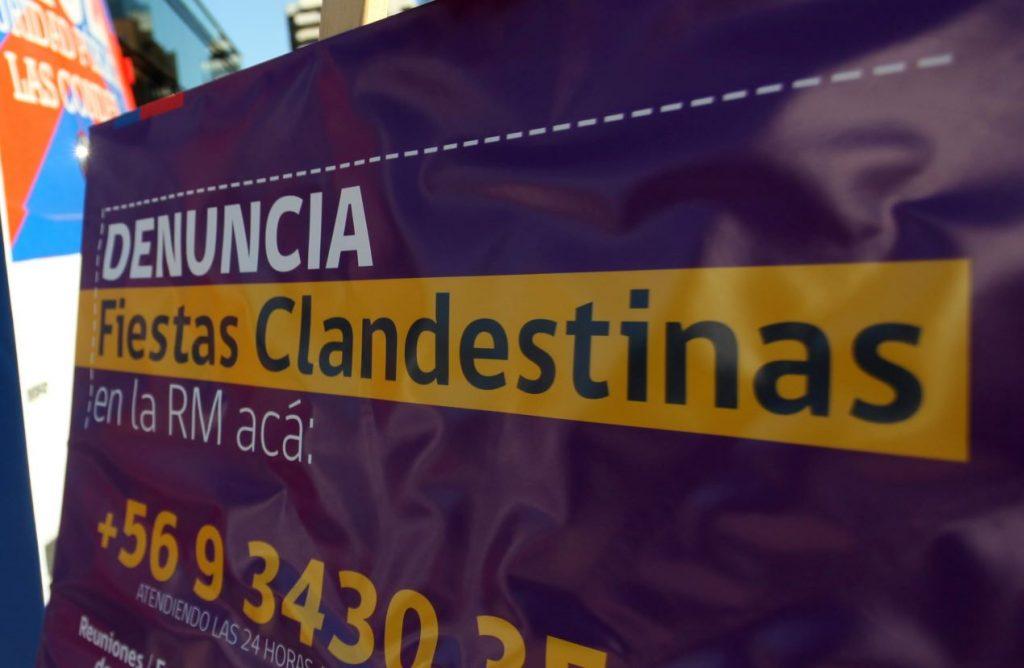 Denuncian que hubo al menos 12 fiestas clandestinas en la Región de Coquimbo durante la última semana