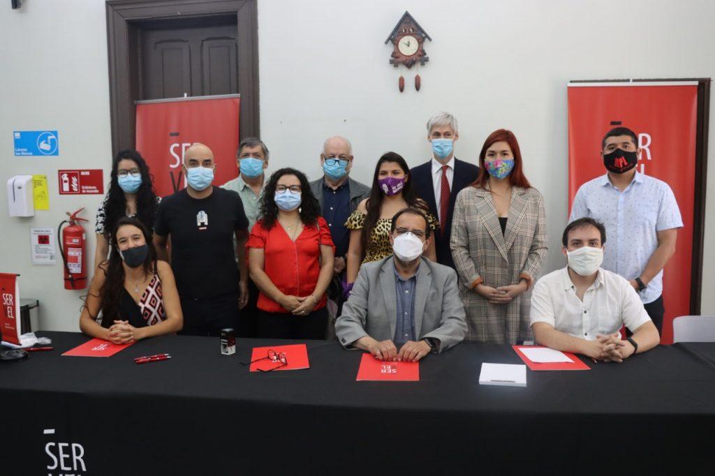 Frente Amplio, Chile Digno, Igualdad, organizaciones sociales e independientes inscriben pacto Apruebo Dignidad con miras a la CC