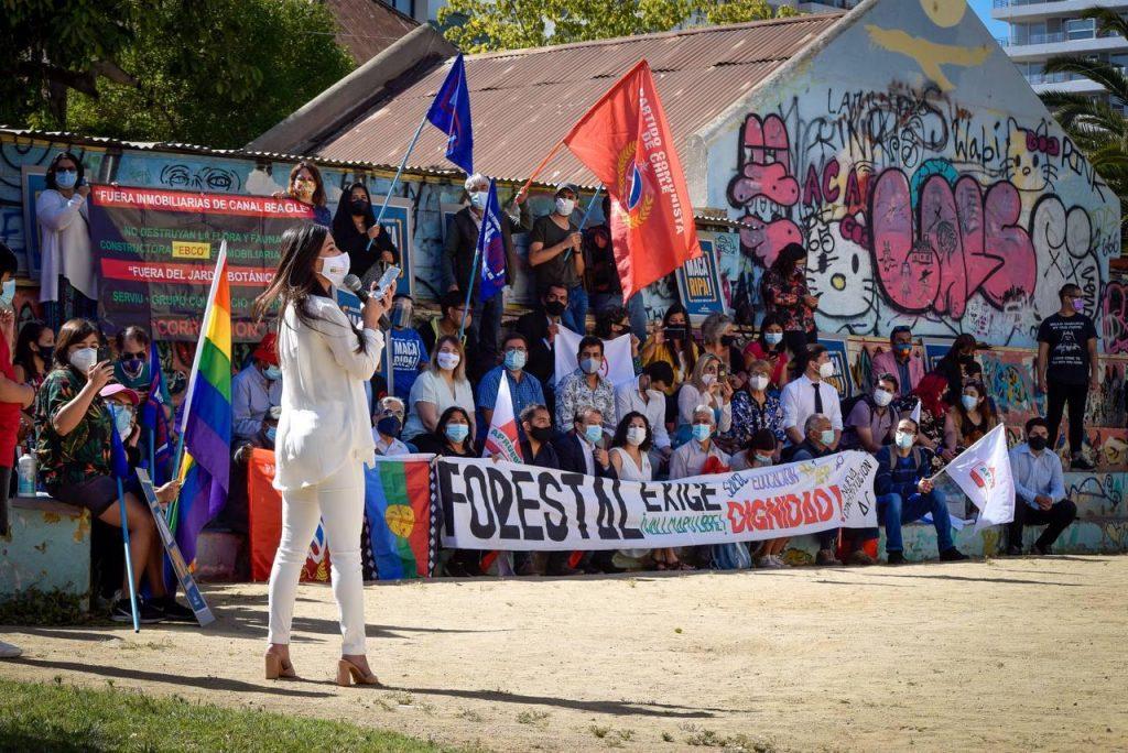 Con Macarena Ripamonti como candidata, FA, Chile Digno y organizaciones sociales definen como prioritario ganar la alcaldía de Viña del Mar