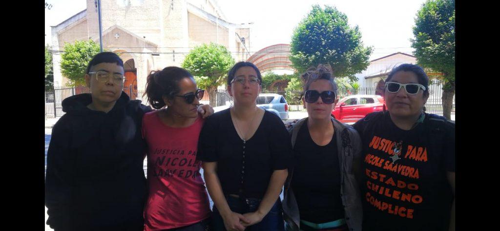 """""""Nos quieren castigar y callar"""": Feministas que se tomaron la Fiscalía de Quillota para exigir justicia por Nicole Saavedra arriesgan tres años de cárcel"""