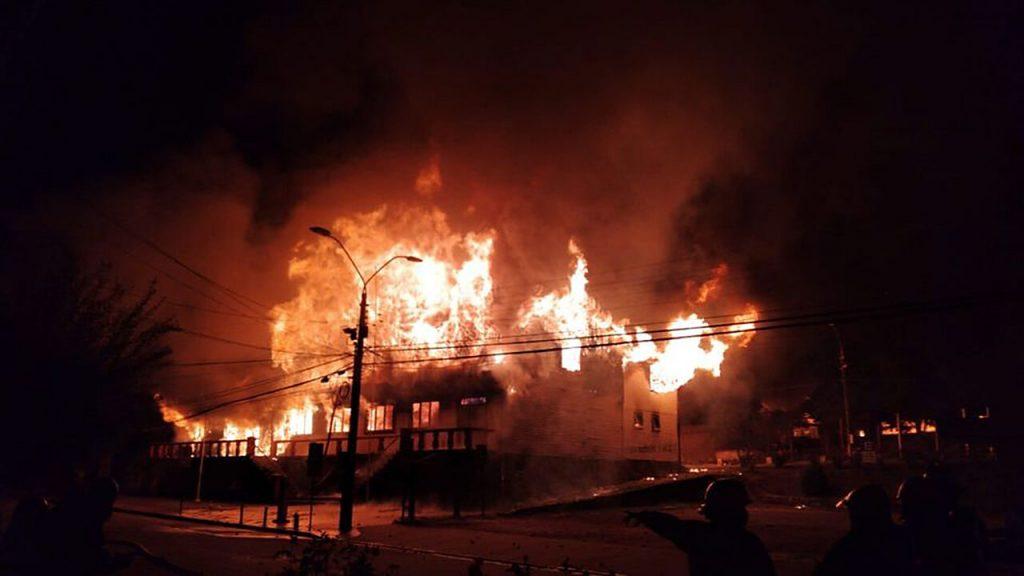 De incendios y violencia en el Sur de Chile: a propósito de la memoria histórica