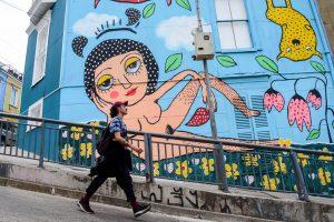 Consejo de Monumentos llama a Mon Laferte a regularizar su mural en Valparaíso