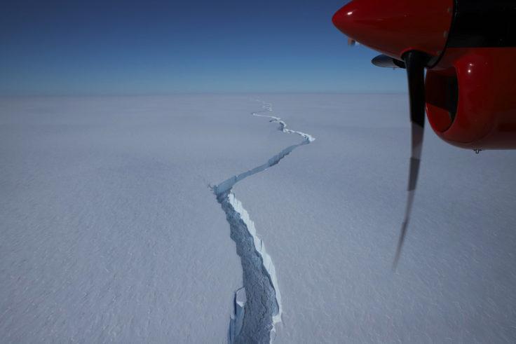 VIDEO | Iceberg dos veces más grande que Santiago se desprende de la Antártica