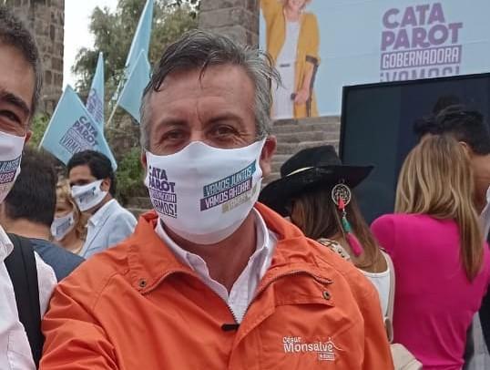 """César Monsalve (PRI), el ahora único candidato por Renca: """"Las circunstancias se han dado de esta manera"""""""