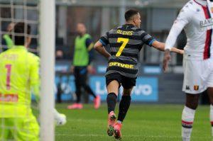 VIDEO | Alexis Sánchez fue figura con un doblete en goleada del Inter sobre Sampdoria