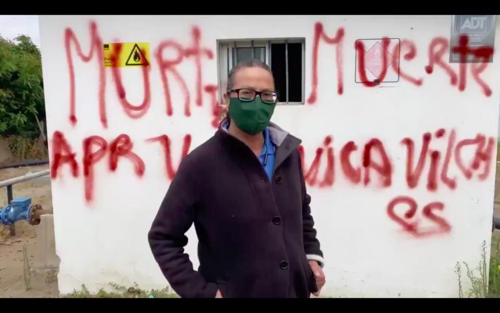 Activista y defensora del agua en Petorca recibe amenazas de muerte