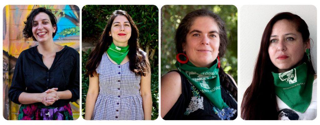 Candidatas independientes de la Coordinadora 8M que van a la Convención: «Nuestra voz es indelegable»