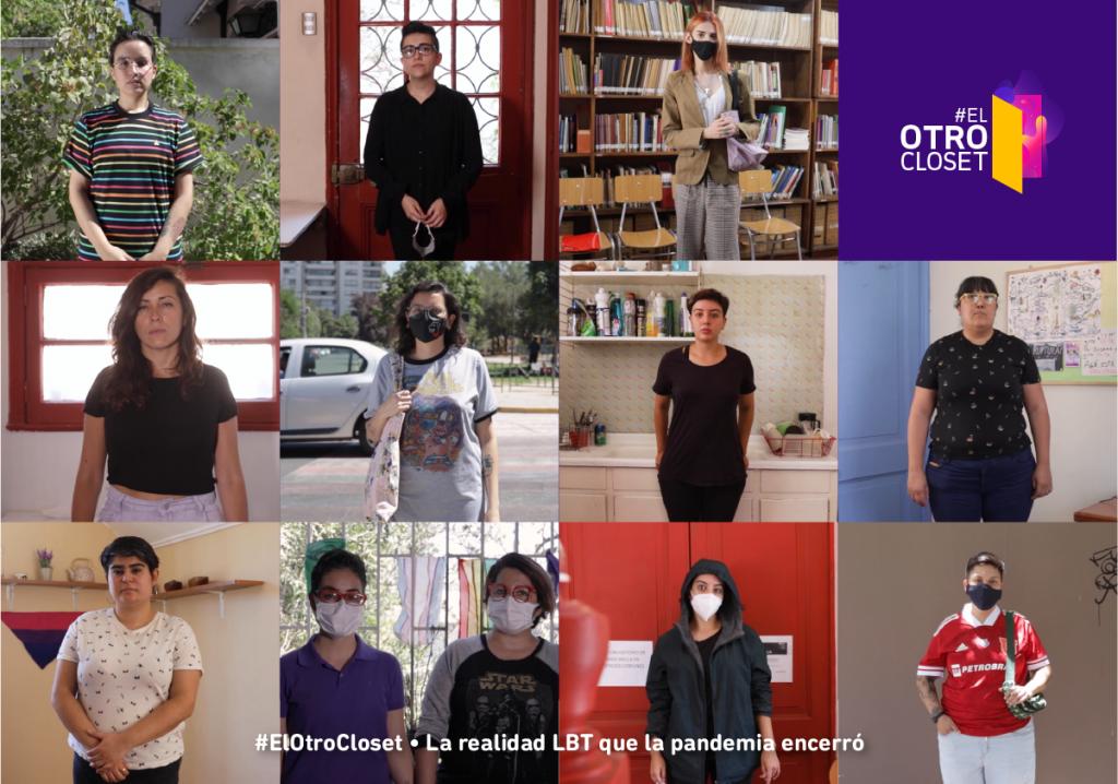 «El Otro Clóset»: Lesbianas, trans, bisexuales y personas no binarias se unen ante violencia vivida en pandemia
