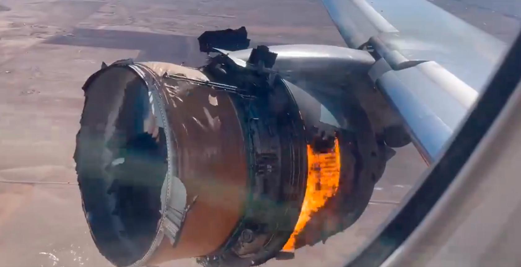 Resultado de imagen para partes de un avión caen en Broomfield