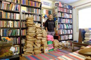 VOCES  Pedaleo: Para mí el oficio de librero cambió completamente con la pandemia
