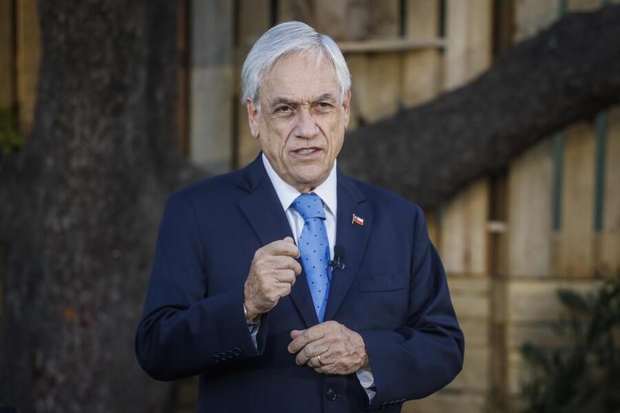 """Presidente Piñera sobre proceso constituyente: """"Hay sectores extremistas que quieren imponer una utopía"""""""
