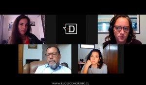 """""""No digas que estoy mintiendo"""": Así fue el tenso momento entre Francisco Orrego y Javiera Toro en programa de El Desconcierto"""
