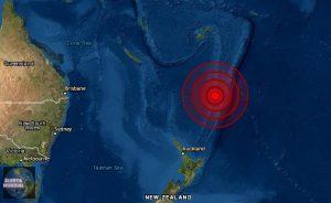 Nueva Zelanda: SHOA alerta posibilidad de 'tsunami menor' en Chile tras terremoto 8,1