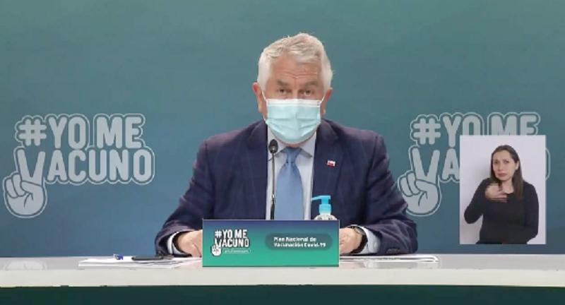 "VIDEO| ""Muchas gracias periodista"": Pregunta sobre frase de Izkia Siches produce corte abrupto de reporte Minsal"