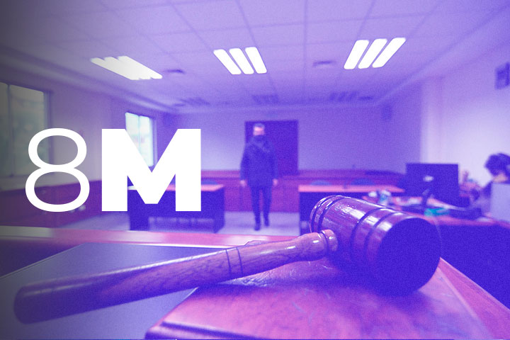 8M-MAPAS Y DATOS| Cuando no llega la medida cautelar: La desprotección de las mujeres víctimas de violencia machista
