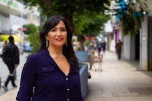 """Paola Tapia, constituyente por el D7: """"La Constitución tiene que ir dando luces concretas"""""""