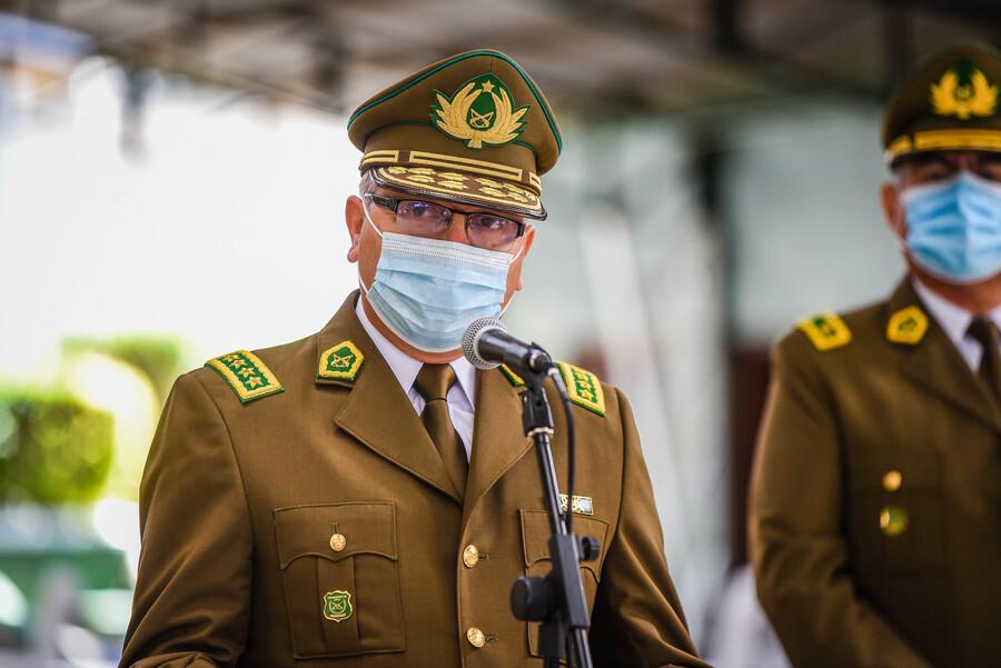 General director Yáñez declara ante la Fiscalía como imputado en casos de delitos de lesa humanidad durante el 18-O