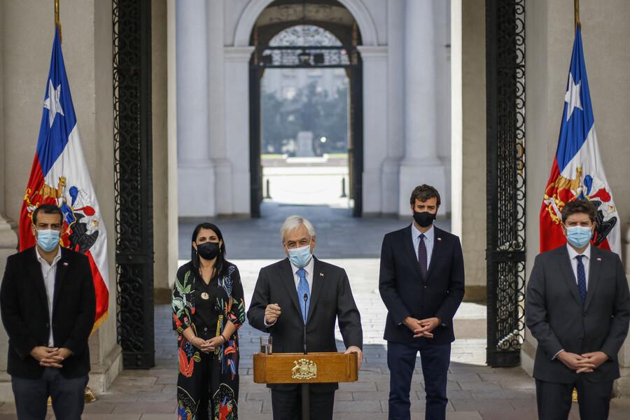 Piñera hace un nuevo intento para evitar el tercer retiro del 10% y anuncia robustecimiento del IFE