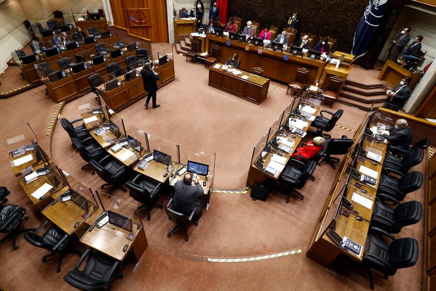 EN VIVO| Senado vota el tercer retiro del 10% y le pone presión a Piñera y al Tribunal Constitucional