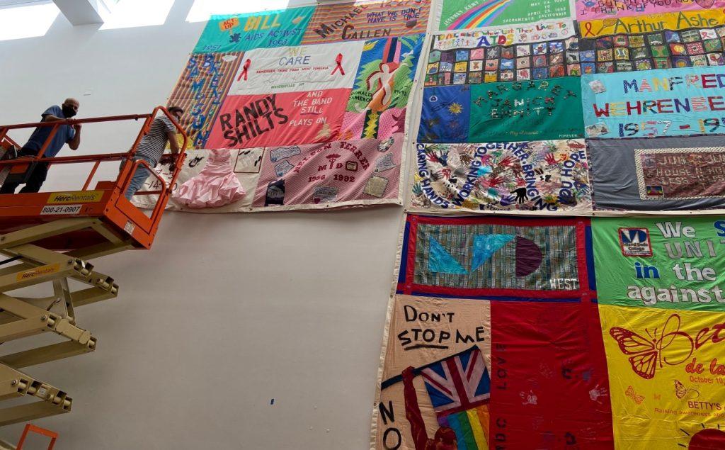 Muestra reflexiona respecto de los 40 años del sida en tiempos de COVID-19