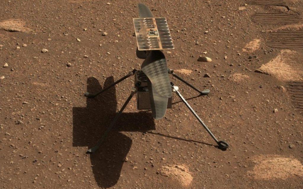 La NASA pospone histórico vuelo de su helicóptero Ingenuity en Marte