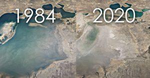 VIDEO | Actualización de Google Earth permite ver los cambios de la Tierra en los últimos 37 años