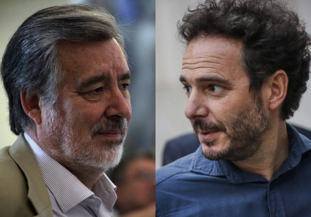 """La respuesta de Alejandro Guillier a ex presidente de Evópoli: """"Si yo estuviera en La Moneda no habría cientos de ojos mutilados"""""""