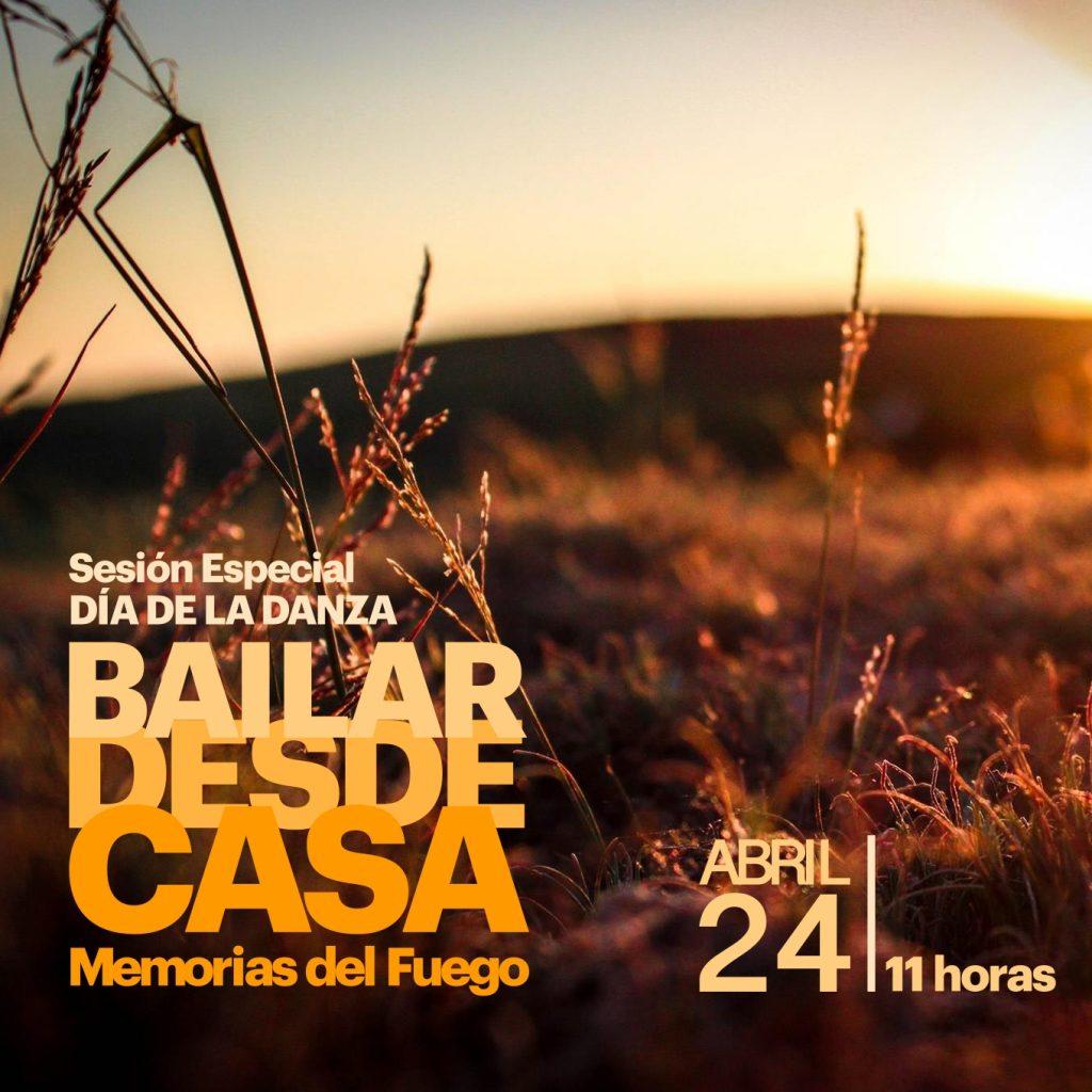 Memorias del Fuego: Sesión especial para el Día de la Danza