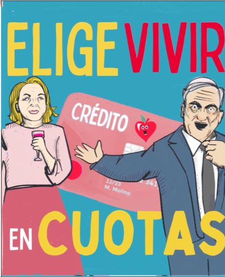 Estallido social y pandemia en libro de viñetas de La Mirona