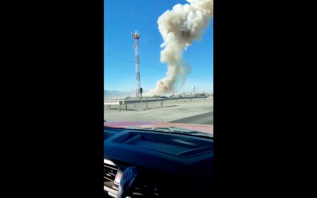 """Alcalde de Calama señala origen de explosión en Eneax: """"Se trataría del material nitroglicerina"""""""
