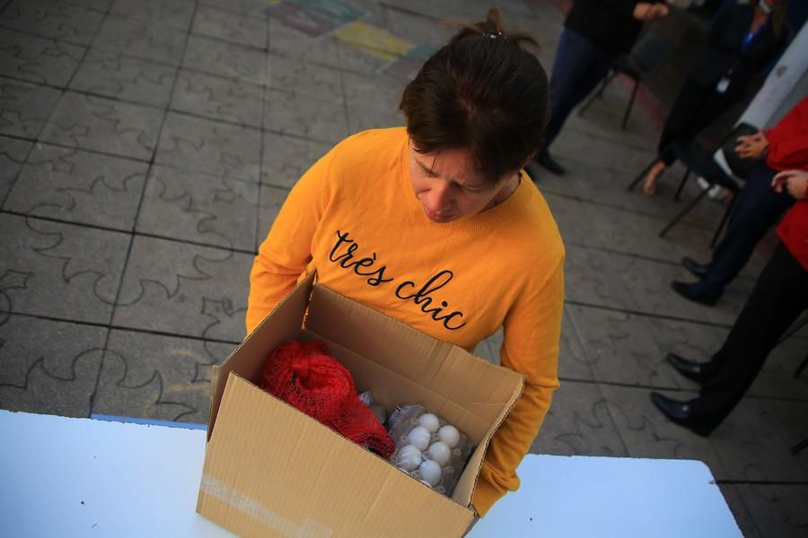 Bancada PPD pide a Contraloría que investigue entrega de canastas de alimentos por parte de la Junaeb
