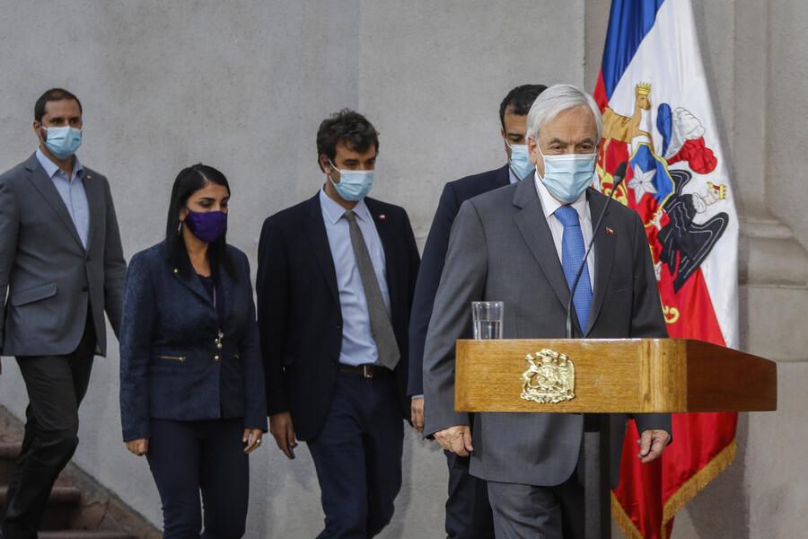 Gobierno de Sebastián Piñera descarta un cambio de gabinete, por el momento