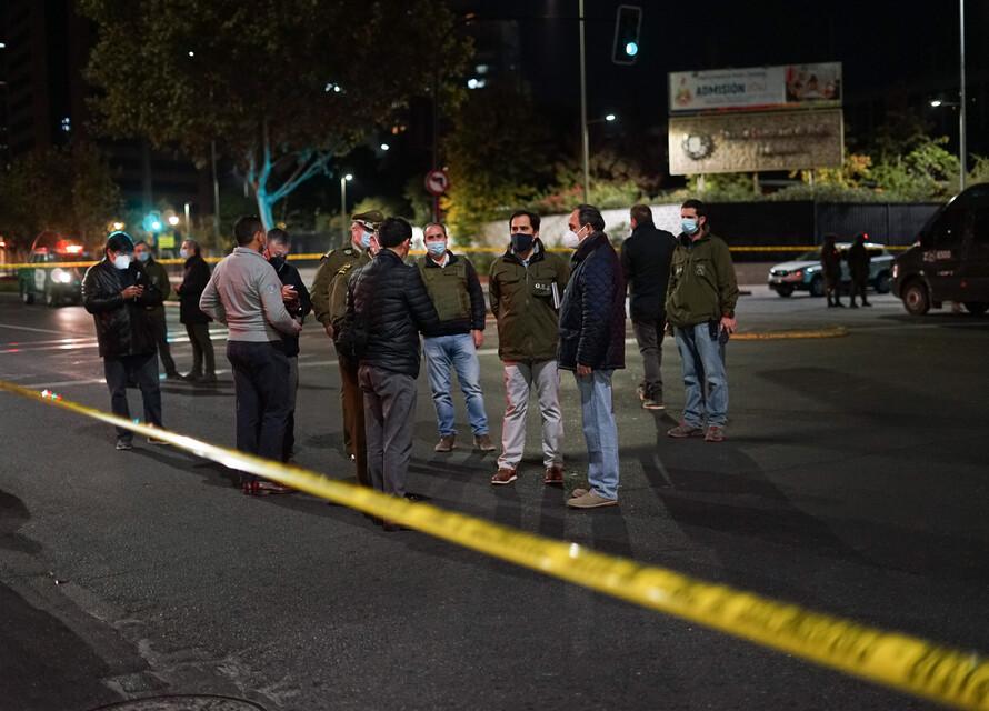 Bombazo en sucursal bancaria en el Apumanque de Las Condes: Carabineros asegura que no se trata de un robo