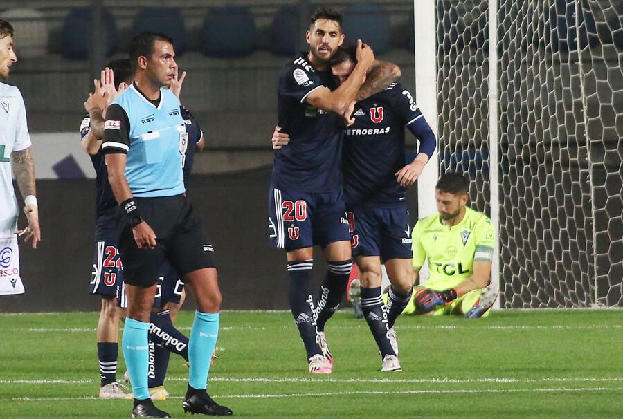 La U derrota con lo justo al colista Santiago Wanderers y Rafael Dudamel respira en la banca azul
