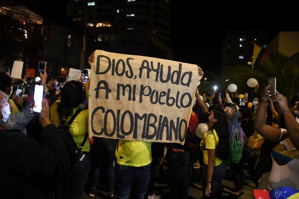 Buscan a 168 personas desaparecidas durante las protestas en Colombia