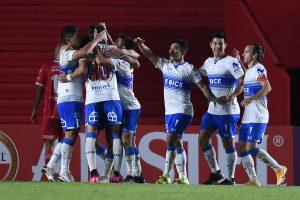 Copa Libertadores: La UC consigue gran triunfo en Argentina y Palestino rescata empate en Brasil