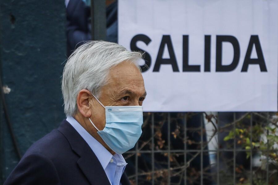 """""""Siento que es una obligación, un imperativo moral"""": Presidente Piñera invita a votar a todos los chilenos"""