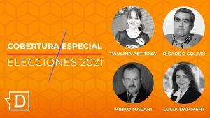Dammert, Macari, Astroza y Solari en El Desconcierto: Revive el análisis de la mega elección 2021