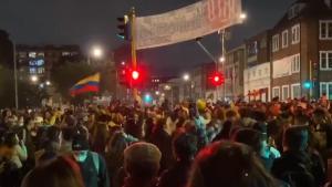 Ministra de Exteriores de Colombia renuncia en medio de protestas en el país