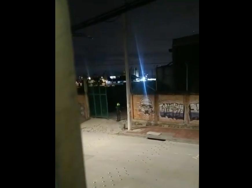 Colombia: Denuncian que helicóptero de la Policía aterrizó en un colegio de Bogotá